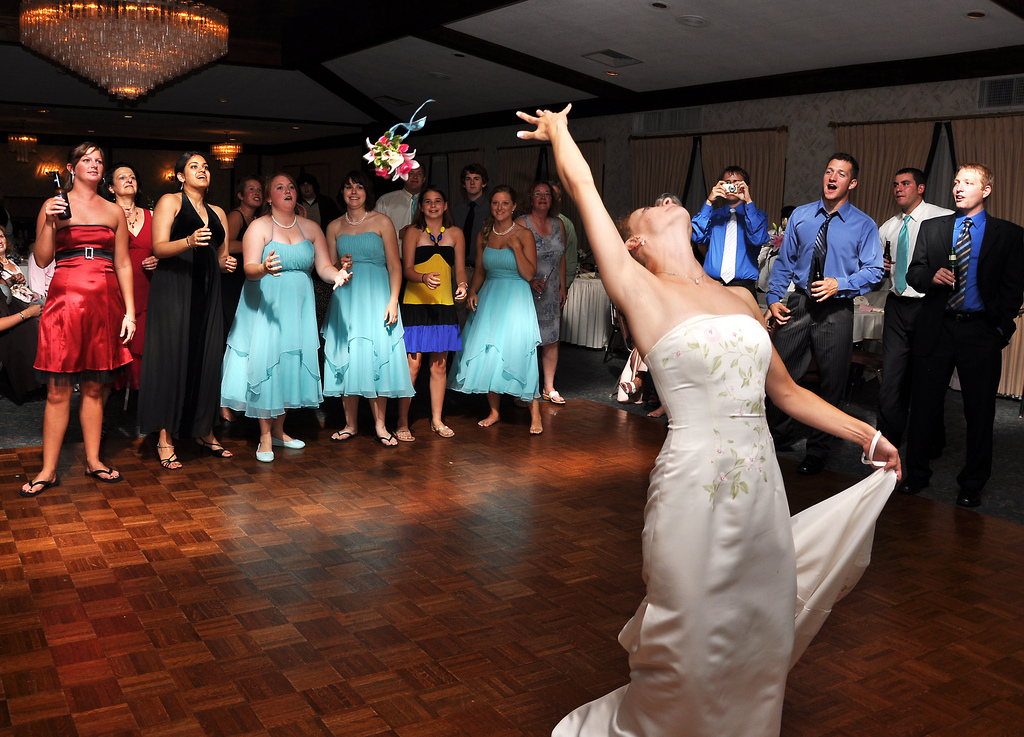 Traditional Hand Bouquet Throw Different Choices The