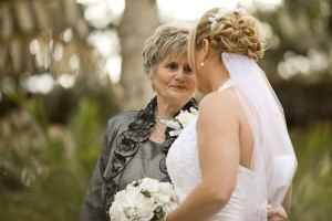 Enlisting your grandmother as a Flower Girl