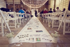 Aisle Runner: Messages Of Love