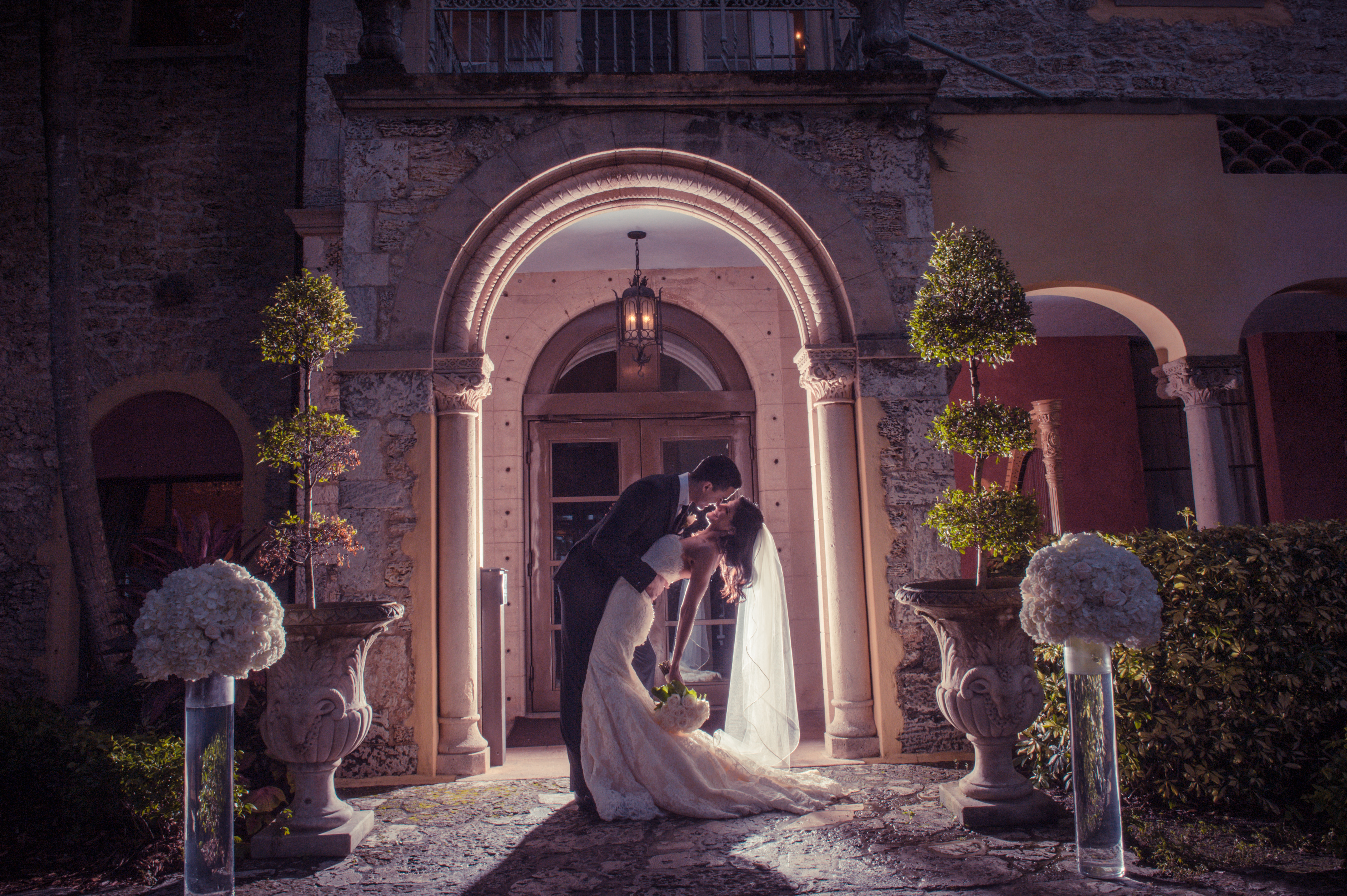 Groom and Bride in Love