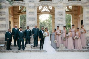 Jazmine & Kevin at their Vizcaya Museum & Gardens Wedding