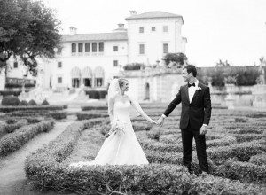 Jeff & Lori they day of their Vizcaya Museum & Gardens wedding