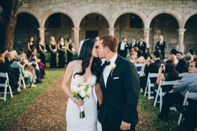 Stephanie & Paul at their Spanish Monastery Wedding