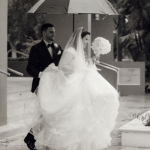 Jannette and Lazaro at their Douglas Entrance Wedding