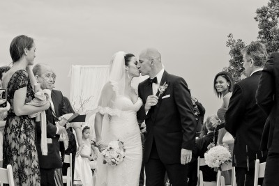 Catherine & Edoardo at their Thalatta Estate Wedding