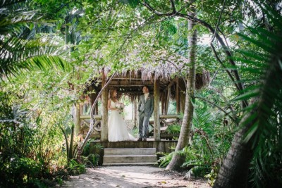 Holly and Pedro at their Bonnet House Wedding