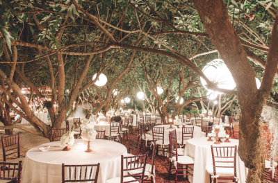 Garden weddings in Miami