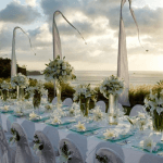 Luxury wedding setting
