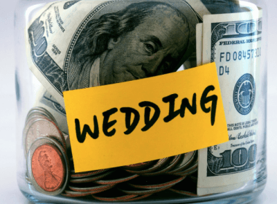 Save for your wedding on a budget