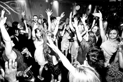people having fun at wedding party